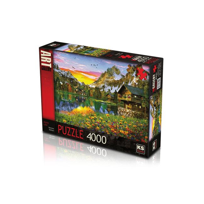 Alpine Lake Puzzel 4000 Stukjes