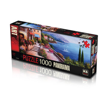 KS Games Break Time Puzzel 1000 Stukjes Panorama