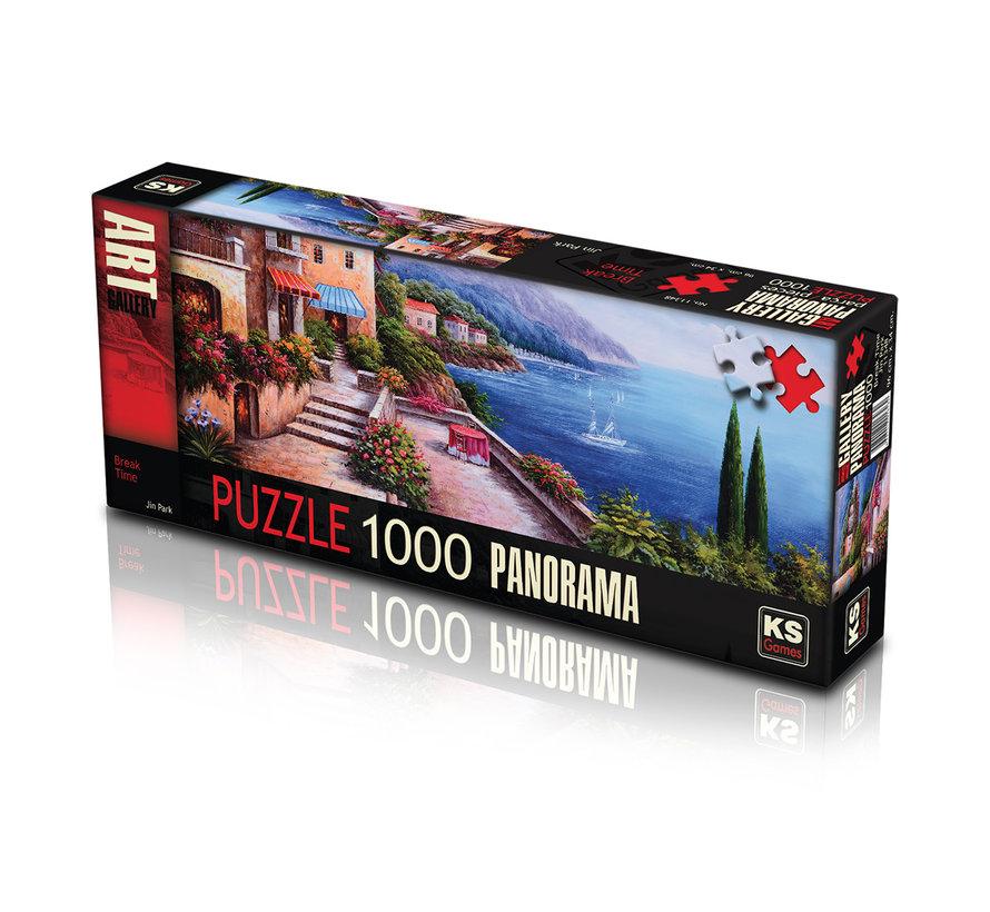 Break Time Puzzle Pieces Panorama 1000