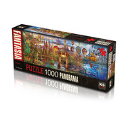 KS Games Fantastic Puzzel 1000 Stukjes Panorama
