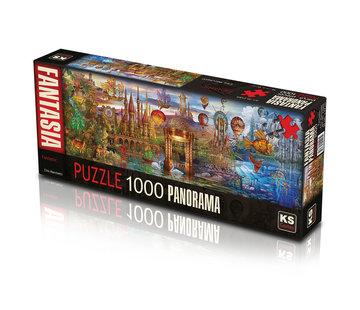 KS Games Fantastic Pieces Puzzle 1000 Panorama
