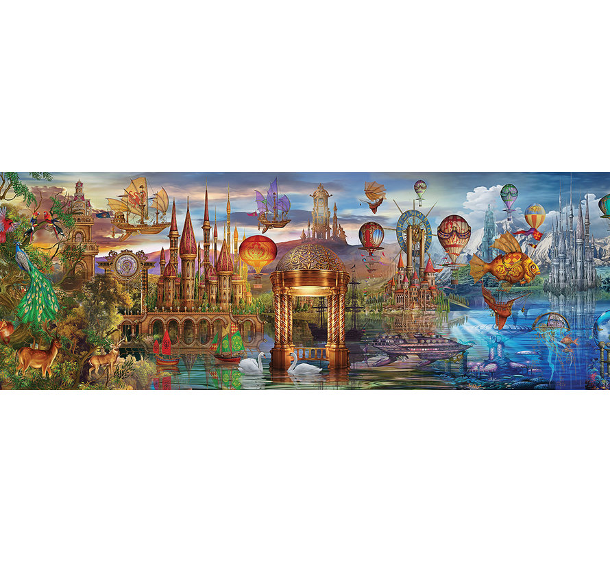 Fantastic Puzzel 1000 Stukjes Panorama