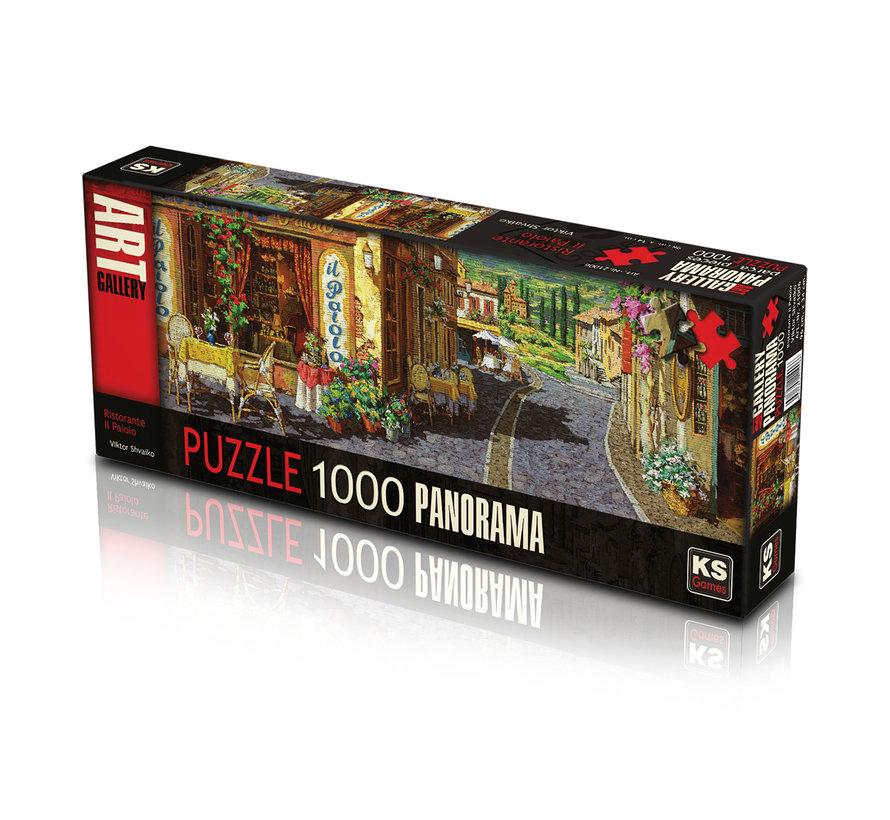 Ristorante Il Paiolo Puzzle Pieces Panorama 1000