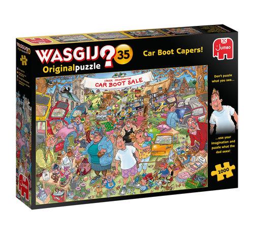 Jumbo Wasgij Original 35 Car Boot Capers Puzzle pieces 1000