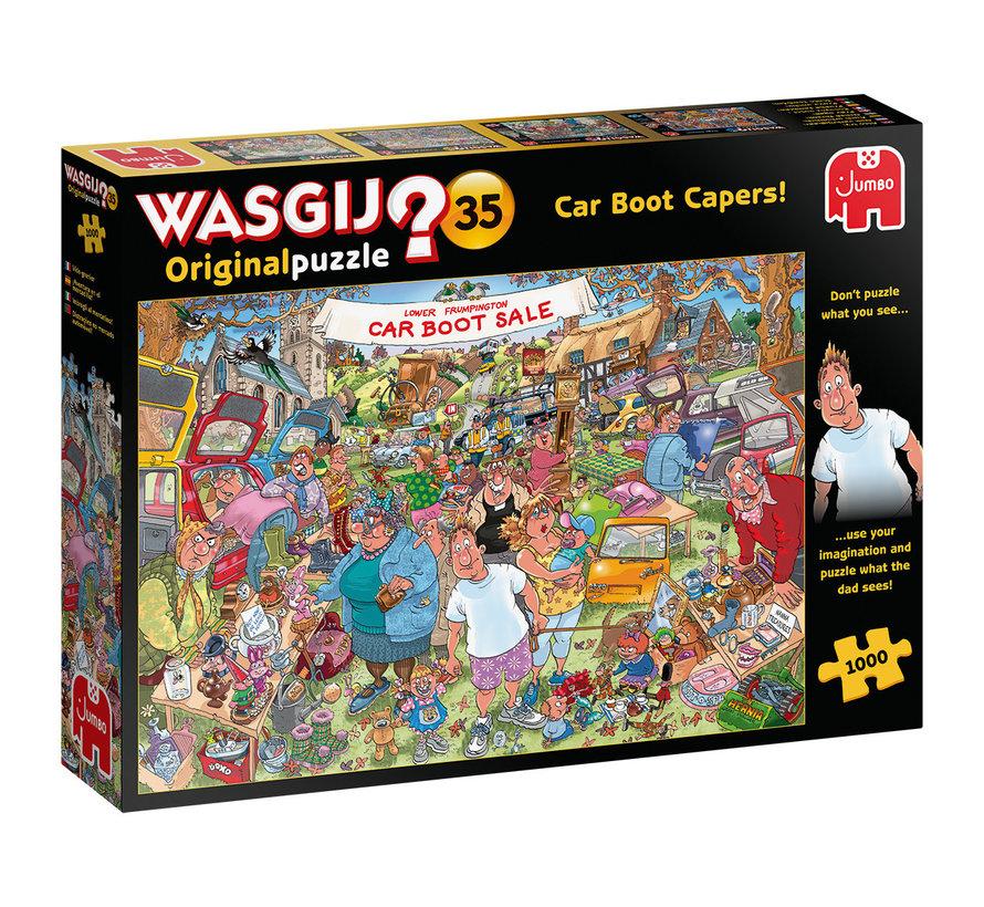 Wasgij Original 35 Car Boot Capers Puzzel 1000 stukjes