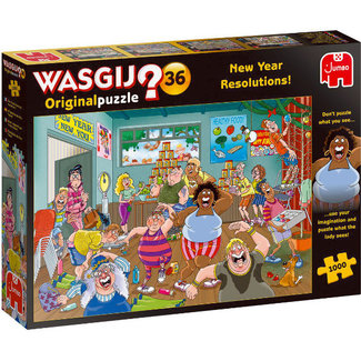 Jumbo Wasgij Original 36 New Year Resolutions 1000 Puzzle pieces