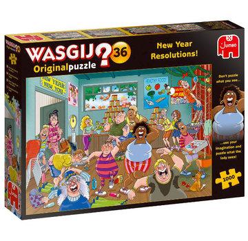 Jumbo Wasgij Original 36 New Year Resolutions Puzzel 1000 stukjes