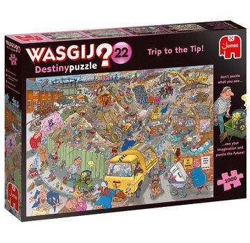 Jumbo Wasgij Destiny 22  Alles op een Hoop!  Puzzel 1000 stukjes