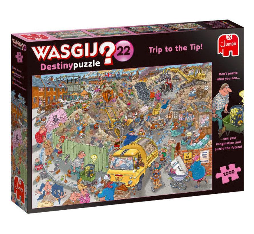 Wasgij Destiny 22  Alles op een Hoop!  Puzzel 1000 stukjes