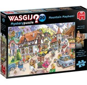 Jumbo Wasgij Mystery 20 Holiday in the Mountains 1000 Puzzle pieces
