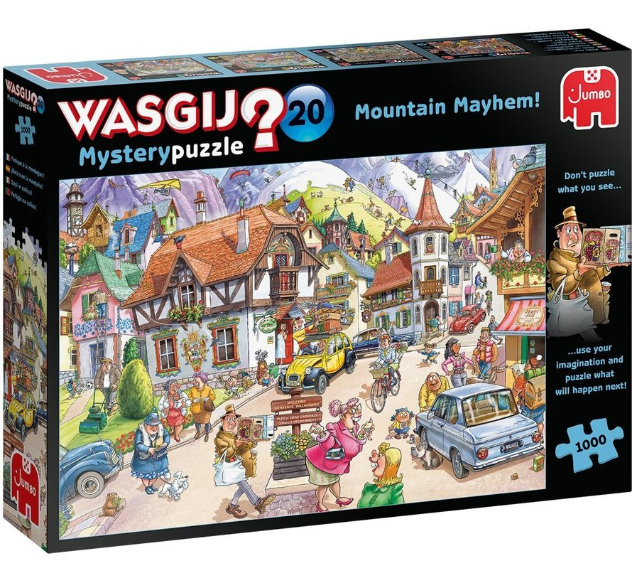 Wasgij Mystery 20 Holiday in the Mountains 1000 Puzzle pieces