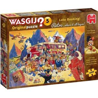 Jumbo Wasgij 5 Retro Last Minute Booking Puzzle 1000 pieces
