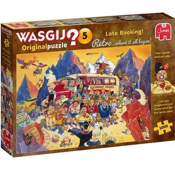 Jumbo Wasgij 5 Retro Last Minute Booking Puzzel 1000 stukjes