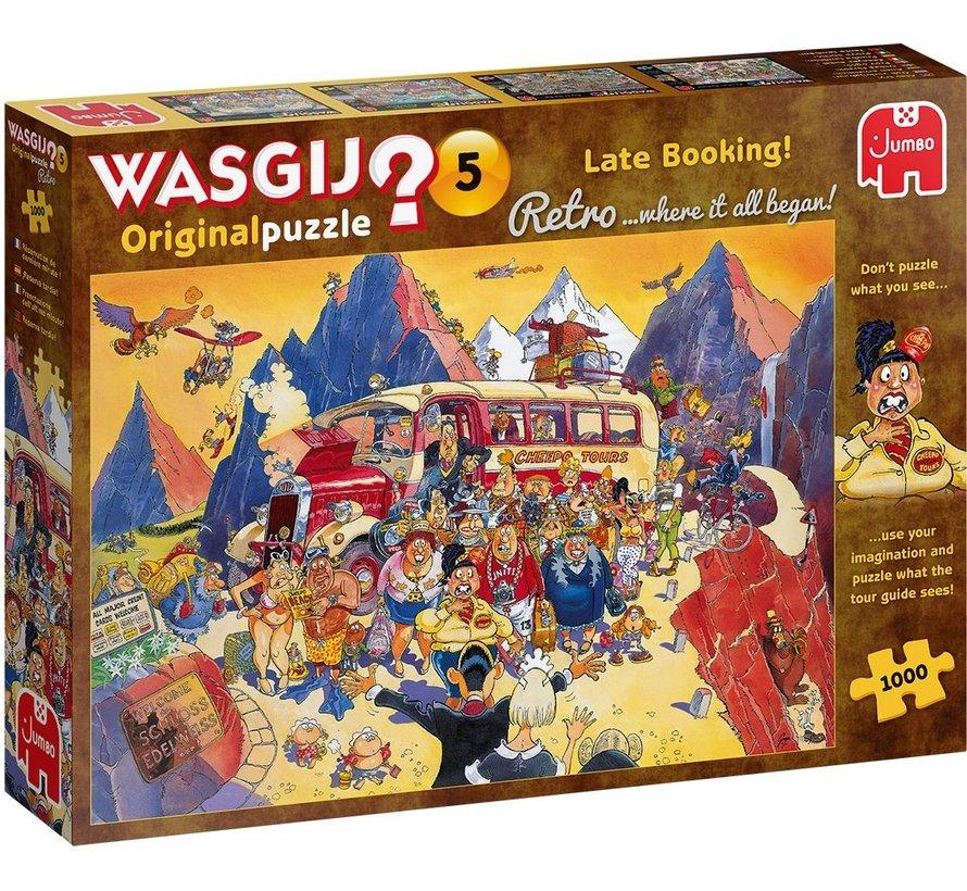 Wasgij 5 Retro Last Minute Booking Puzzel 1000 stukjes