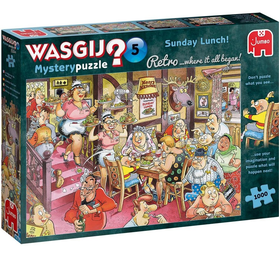 Wasgij Mystery 5th Sunday Lunch 1000 pieces