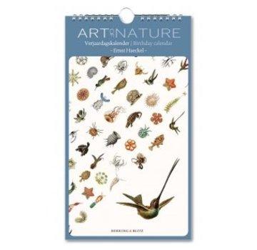 Bekking & Blitz Art of Nature Ernst Haeckel Birthday Calendar
