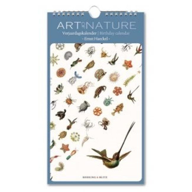 Art of Nature Ernst Haeckel Verjaardagskalender