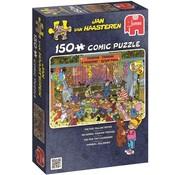 Jumbo Fairground, la corde - Jan van Haasteren Puzzle 150 Pièces