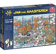 Jumbo Jan van Haasteren - Antarctic Expedition 1000 Puzzle Pieces