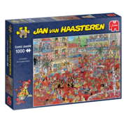 Jumbo Jan van Haasteren - La Tomatina 1000 Puzzle Pieces
