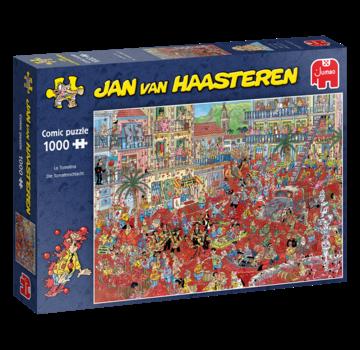 Jan van Haasteren Jan van Haasteren - La Tomatina 1000 Puzzle Pieces