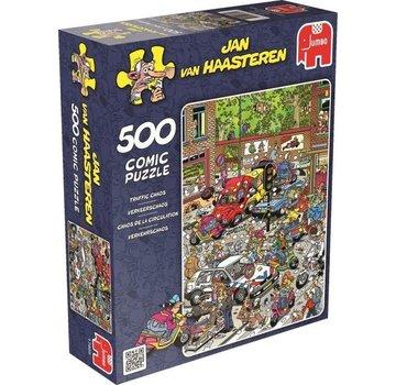 Jan van Haasteren Jan van Haasteren - Traffic Chaos Puzzle 500 Pieces