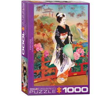 Eurographics Higasa - Haruyo Morita Puzzel 1000 Stukjes