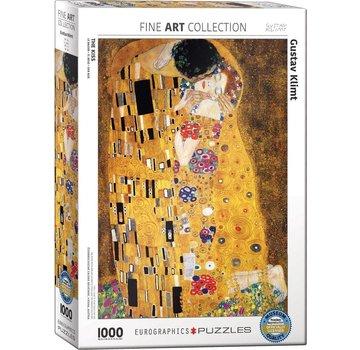 Eurographics The Kiss - Gustav Klimt Puzzel 1000 Stukjes
