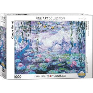 Eurographics Waterlilies - Claude Monet Puzzel 1000 Stukjes