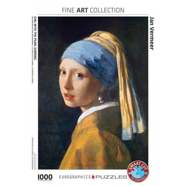 Girl with the Pearl Earring - Johannes Vermeer Puzzel 1000 Stukjes