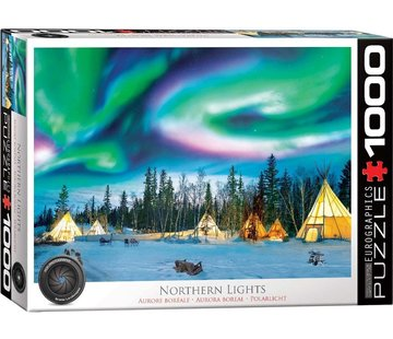 Eurographics Northern Lights - Yellowknife Puzzel 1000 Stukjes
