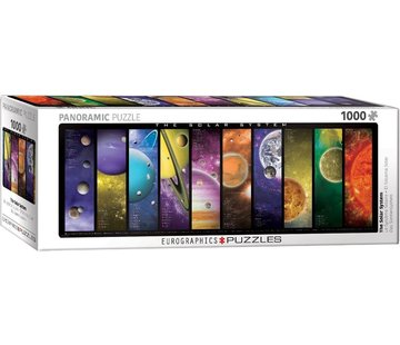 Eurographics The Solar System 1000 Panorama Puzzle Pieces