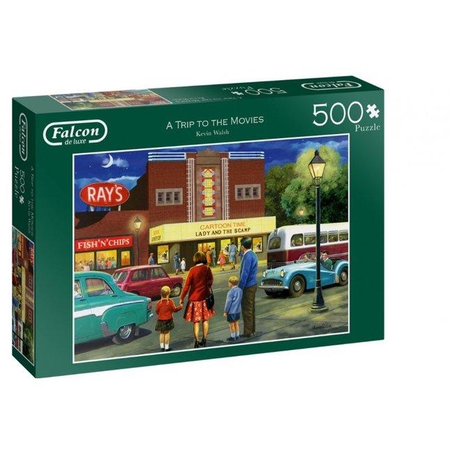 Falcon Eine Reise zu den Filmen 500 Puzzle Pieces