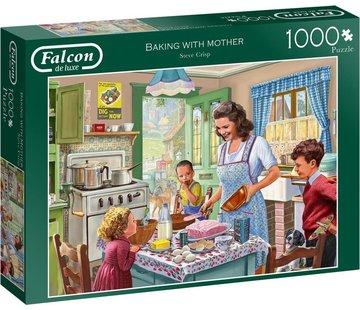 Falcon Baking with Mother Puzzel 1000 Stukjes