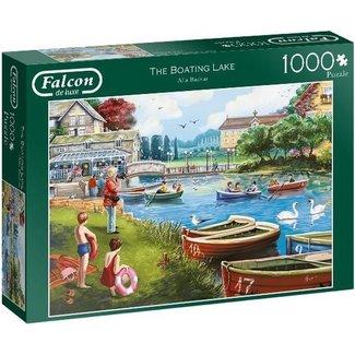 Falcon Der Bootfahren See 1000 Puzzle Pieces
