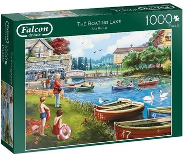 Falcon The Boating Lake Puzzel 1000 Stukjes