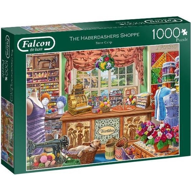 Falcon The Haberdashers Shoppe Puzzel 1000 Stukjes