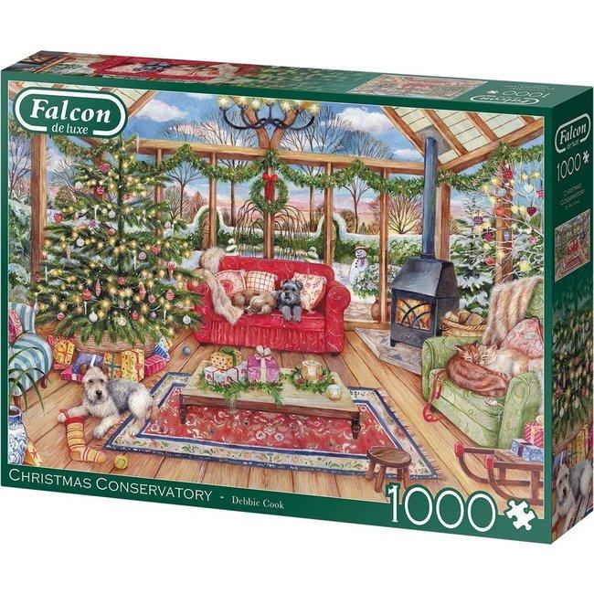 Falcon Christmas Conservatory Puzzel 1000 Stukjes