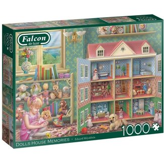 Falcon Dolls House Memories Puzzel 1000 Stukjes