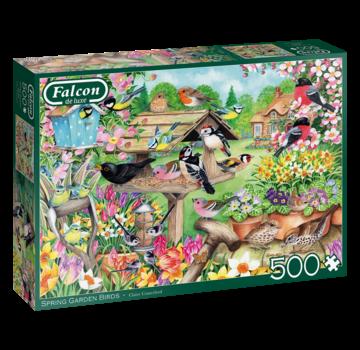 Falcon Spring Garden Birds Puzzel 500 Stukjes