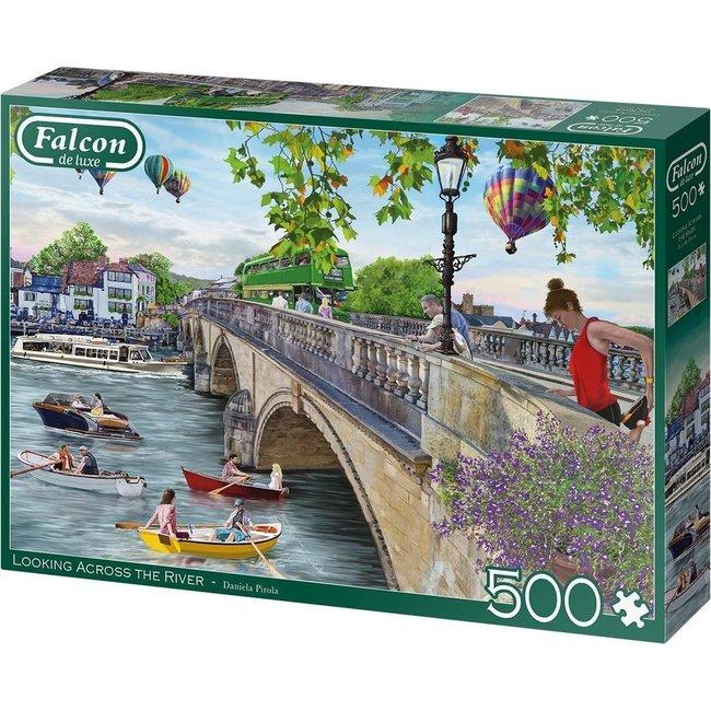Blick über den Fluss 500 Puzzle Pieces