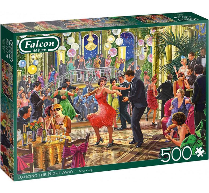 Dancing the Night Away Puzzel 500 Stukjes