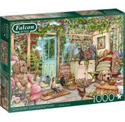Falcon Country Conservatory Puzzel 1000 Stukjes