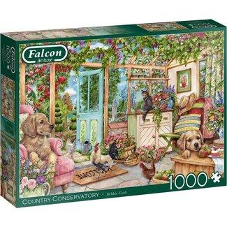Falcon Land Conservatory 1000 Puzzle Pieces