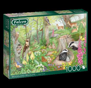 Falcon Woodland Wildlife Puzzel 1000 Stukjes