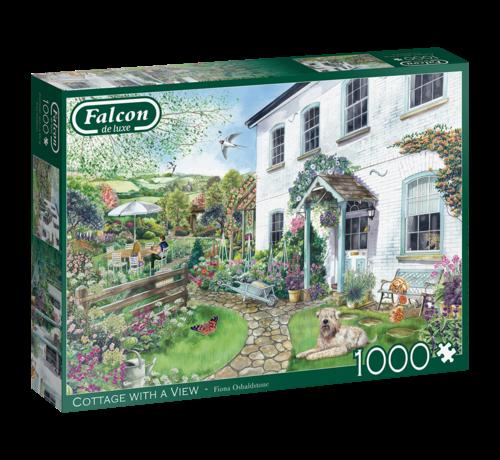 Falcon Cottage with a View Puzzel 1000 Stukjes