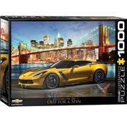 Eurographics Corvette Z06 Out for a Spin Puzzel 1000 Stukjes