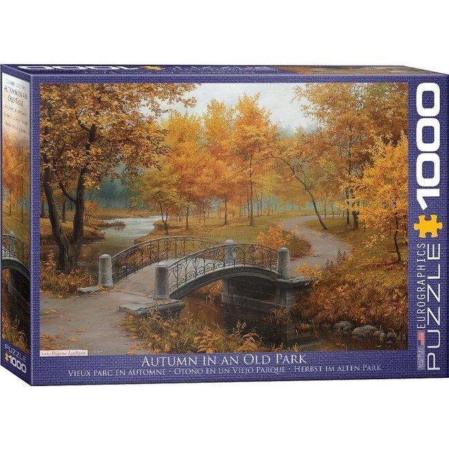 Autumn in an Old Park Puzzel 1000 Stukjes