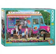 Eurographics Dan's Ice Cream Van - Paul Normand Puzzel 1000 Stukjes