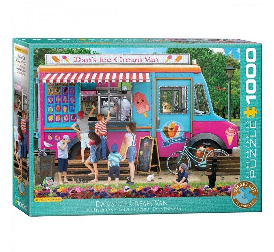 Dan's Ice Cream Van - Paul Normand Puzzel 1000 Stukjes